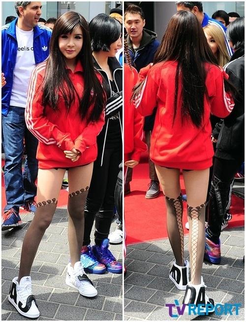 Park Bom @ Adidas Myeongdong
