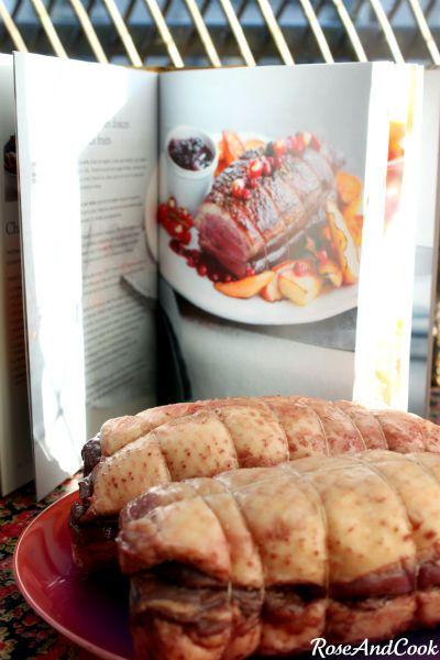Roti de magret de canard