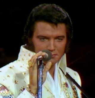 """Elvis singing """"C.C. Rider"""""""