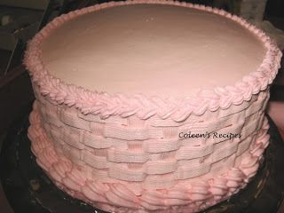STURDY BUTTER CREAM FROSTING