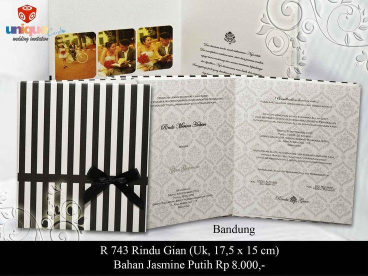 Undangan Pernikahan – R743 || Unique Card Wedding Invitation