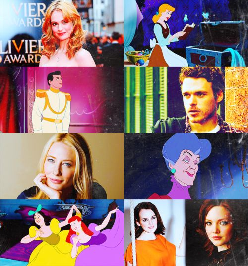 The cast of the live-action remake of Cinderella. Kenneth Branagh will be the movie's director. It's expected that the film will be released in 2015. The script will be written by Chris Weitz.  The cast: Lily James as Cinderella,  Richard Madden as Prince Charming,  Cate Blanchett as Lady Tremaine,  Holliday Grainger and Sophie McShera as Drizella and Anastasia
