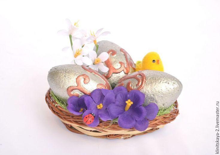 Купить Интерьерная композиция к Пасхе, подарок на Пасху. - пасхальный подарок, пасхальный сувенир, пасхальный декор