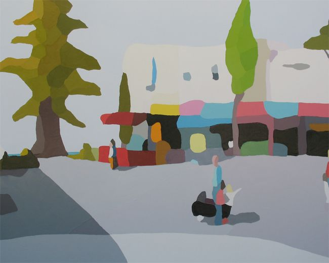 'Between The Lines' by Michael Muir at Jan Murphy Gallery