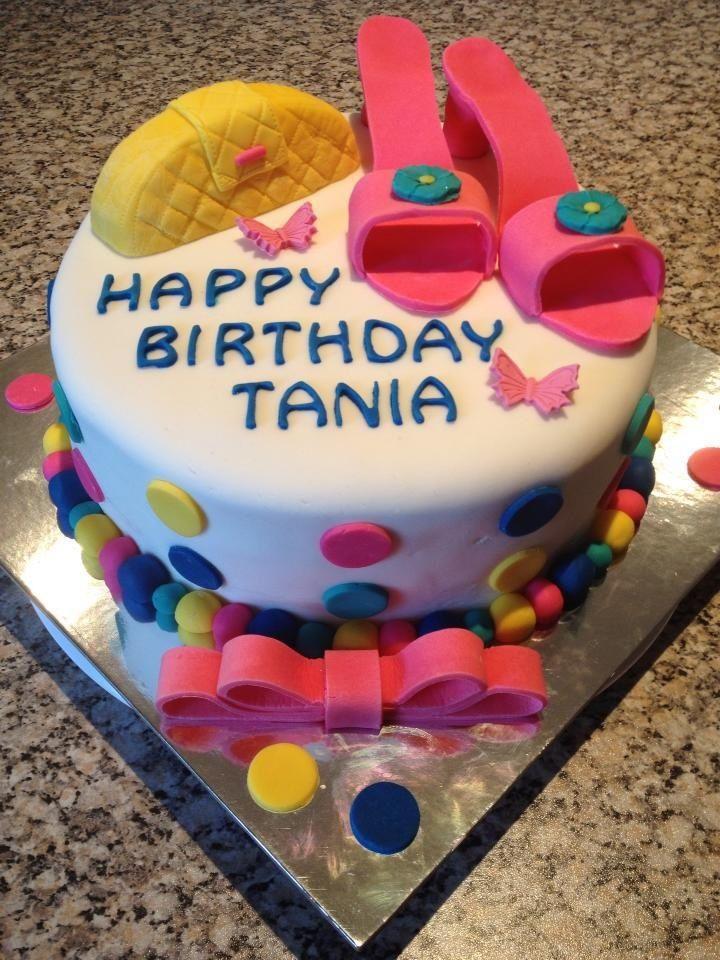Tania's Birthday cake