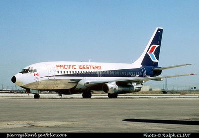 Image result for pacific western airlines images