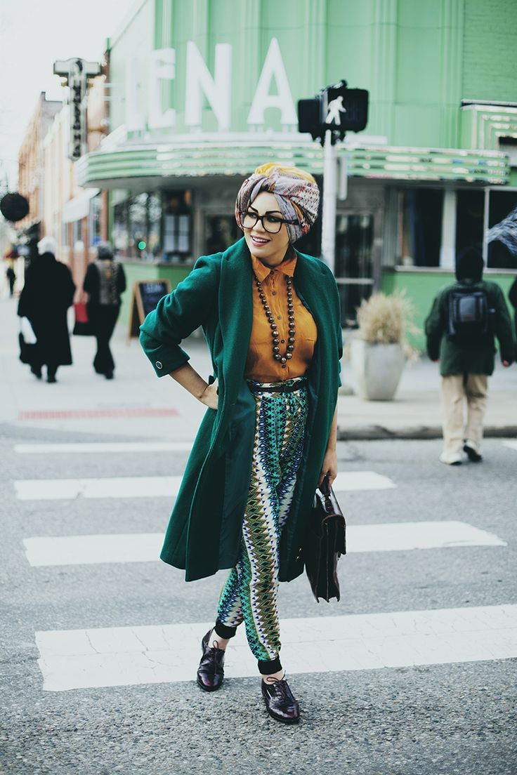 "modeststreetfashion: "" The Hijablog (Imaan Ali) 