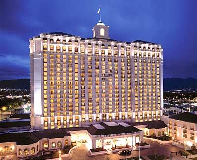 Grand America Hotel - Salt Lake City, Utah - We received a free upgrade from the hotel across the street and stayed here for a week! FANTASTIC!!!