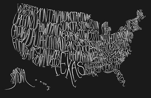 america? america. Spiders Web, Little Owls, 50 States, Maps Crafts, Art, Travel, Typography, Design, United States