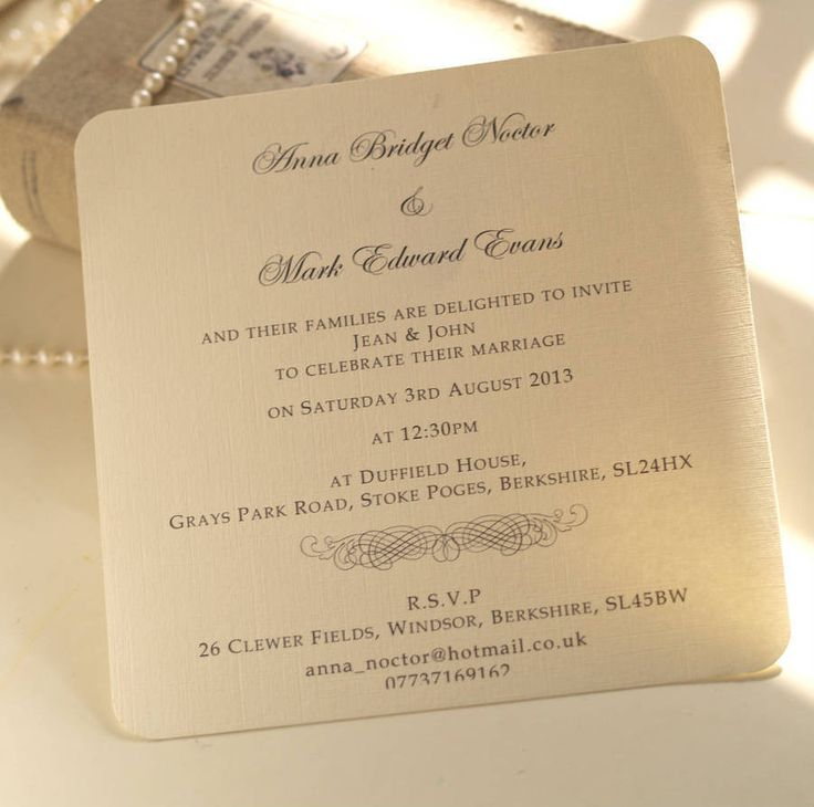 The 50 best Wedding Invitations images on Pinterest   White ...