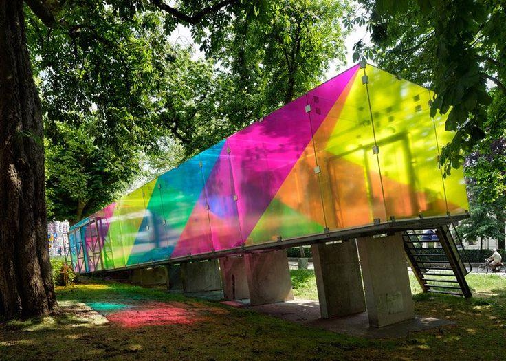 Bernard Tschumi - Glass Pavilion, Groningen, 1990