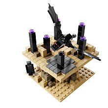 lego minecraft ender dragon set instructions