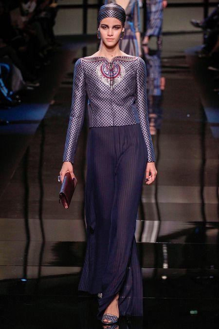 Couture Fashion Show 2014   Armani Privé Haute Couture Spring 2014