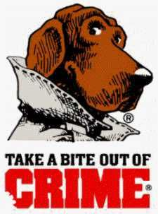 """McGruff.  B/c of these commercials, to this day, when I hear """"Chicago, Illinois"""" I want to say """"60652."""""""