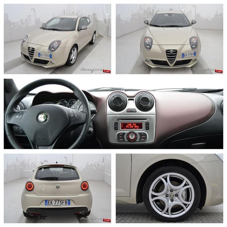 Alfa Romeo Mito quadrifoglio, usata del settembre 2011, color bianco gardenia #alfaromeo #lanostravetrina #mirafiorioutlet