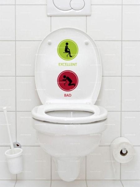 Les 25 meilleures id es de la cat gorie stickers wc sur for Pochoir mural wc