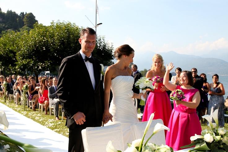 Wedding on maggiore lake - Italy