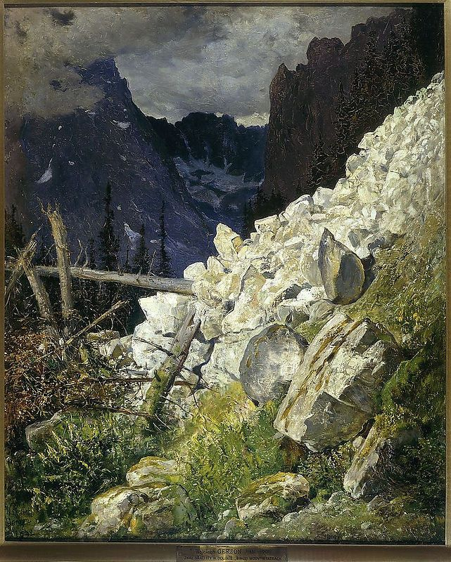 Zwał skalisty, 1892