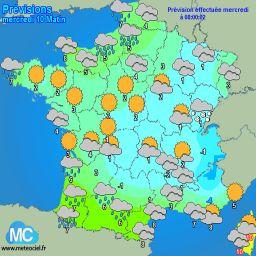Meteociel - Prévisions météo pour Erdeven ( 56410 ) - Météo Erdeven - Météo 56410
