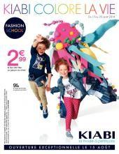 Le tout nouveau catalogue Kiabi a retrouver sur promodeclic.fr