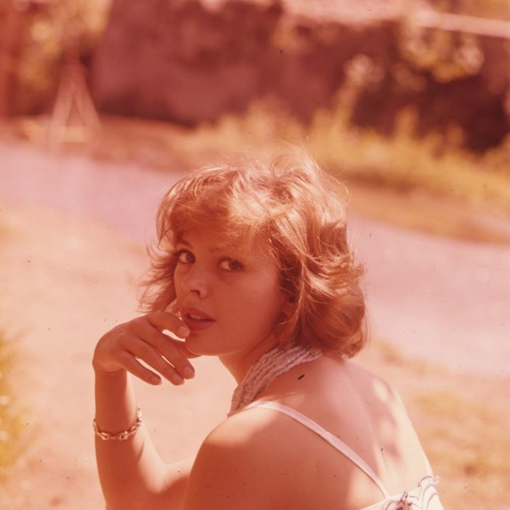 Barbara Kwiatkowska-Lass, Italy 1961.