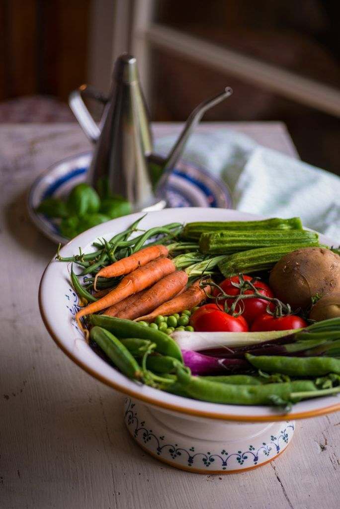 zuppa di verdure e fagioli | vegetables and beans soup