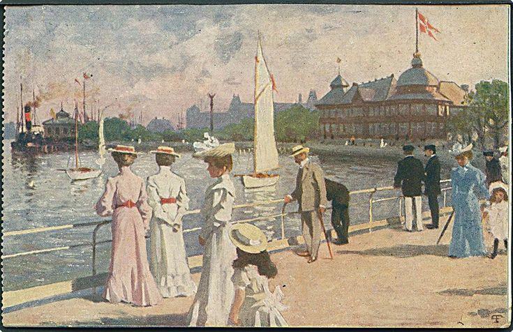 paul fischer - postcard