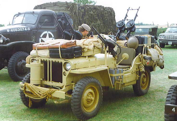 WarWheels.Net-LRDG/SAS Willys MB Jeep Index