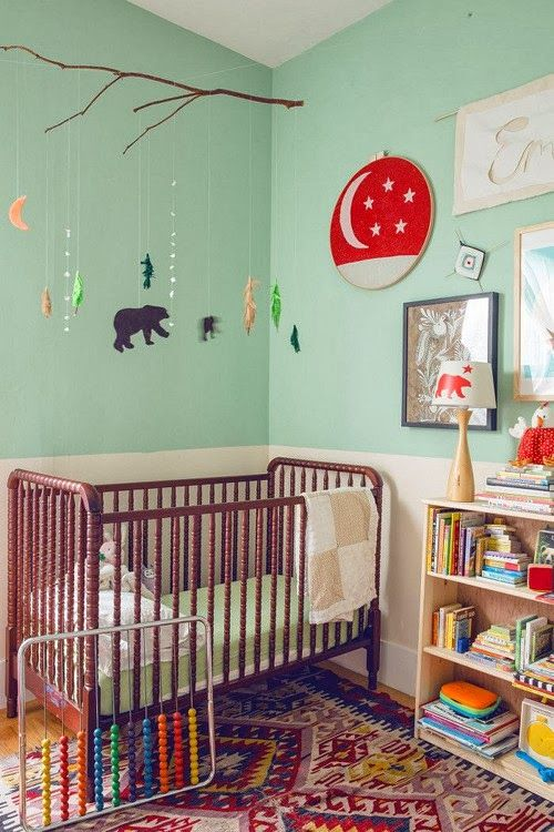 M s de 25 ideas fant sticas sobre cuarto de beb verde y - Habitacion infantil verde ...