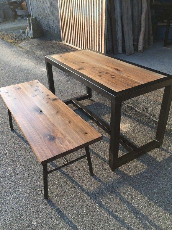 アイアンテーブル リビング キッチン テーブル テーブルベンチ
