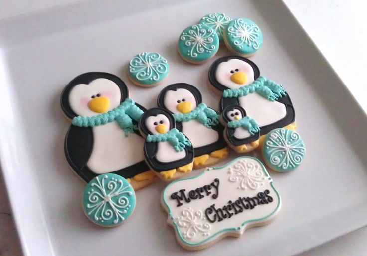 SugarBliss Cookies: SugarBliss Penguins