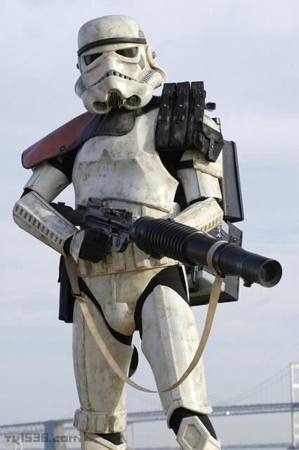 *SANDTROOPER ~ STAR WARS Sandtrooper