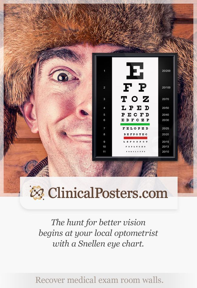 snellen eye chart instructions