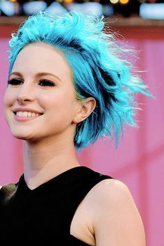 Image result for hayley williams blue hair