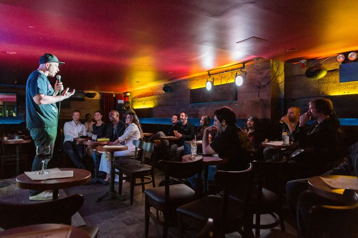 Serious libations and serious laughs collide at this comedy club–restaurant hybrid in Gramercy. Sons of Essex's Seth Levine turns out comfort-food s
