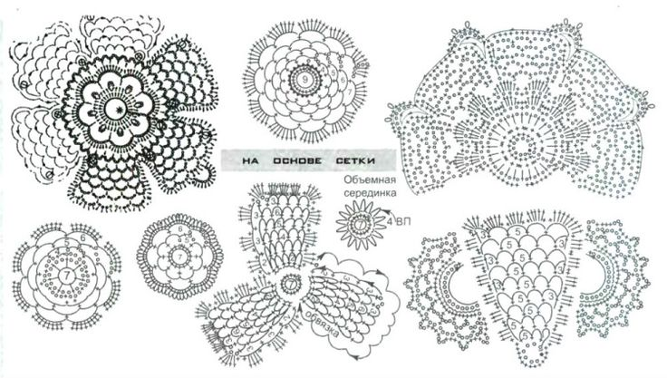diagram 43: Irish Crochet, Crochet Irish, Crochet Crafts, Crochet Flowing, Crochet Irlandai, Crochet Patterns, Crochet Flowers Leaves, Freeform Crochet, Crochet