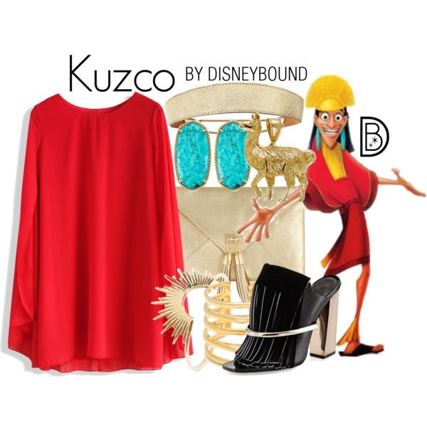 DisneyBound. Kuzco inspired outfit. Disney. The Emperor's New Groove. #disneybound