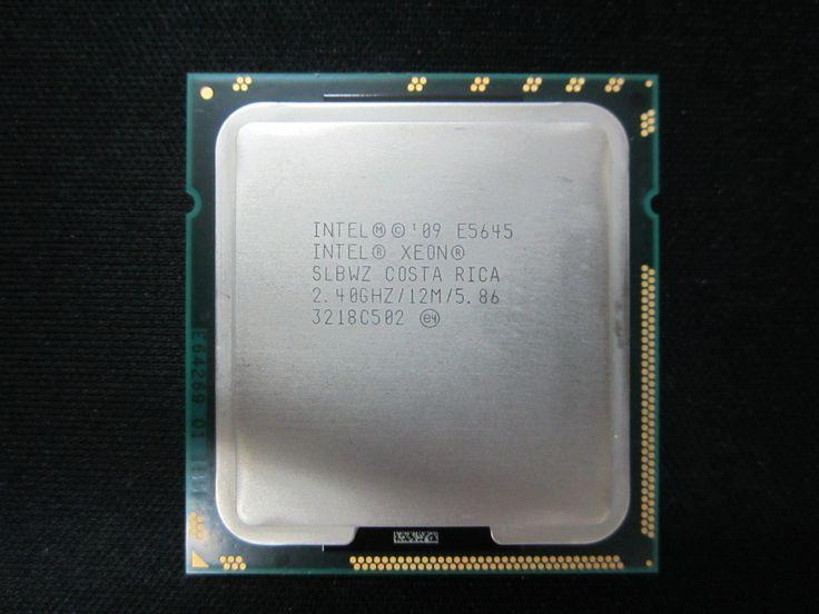Intel Xeon E5645 Processor Six Core 2.40GHz 12M 5.86GT/s LGA 1366 CPU