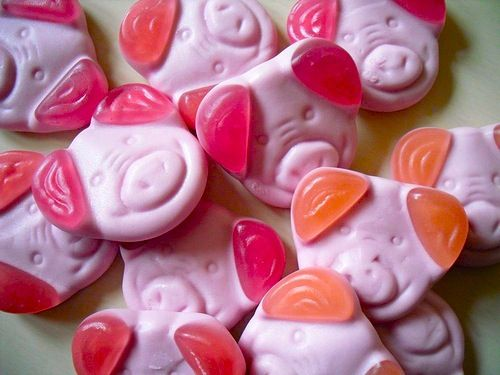 Percy Pig Sweets For the sweetie jars