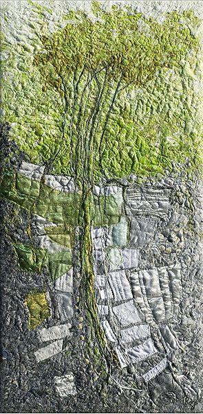 Trembling Aspen | Lorraine Roy, textile artist from Dundas, Ontario, Canada