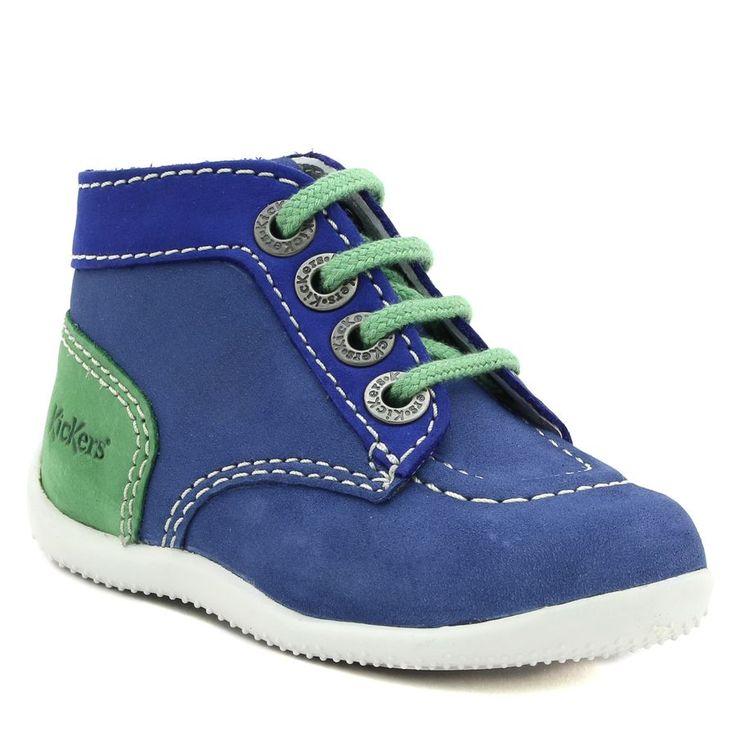 497A KICKERS BONBON MARINE www.ouistiti.shoes le spécialiste internet #chaussures #bébé, #enfant, #fille, #garcon, #junior et #femme collection printemps été 2017