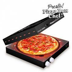 Horno para pizzas con forma de caja de pizza #pequeñoelectrodomestico #pizza #regalossolperos #regaloscafe