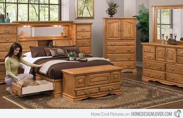 Oak Bedroom Furnitures