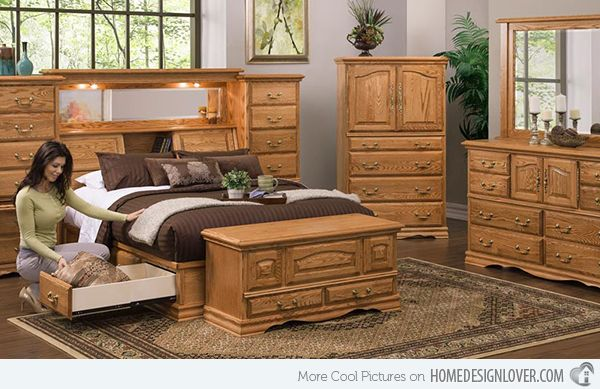 Oak Bedroom Furnitures
