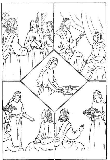 Pin on Mary and Martha