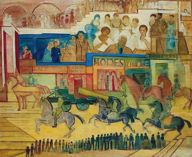 Леон Хвістек. Парад у Львові, 1937