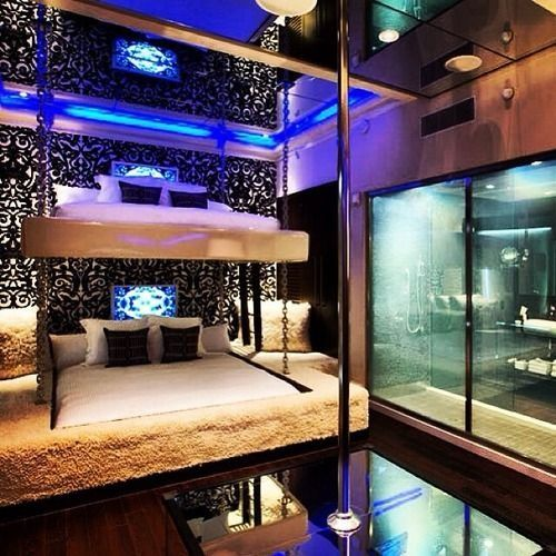 Wow adult bunkbeds and is that a pool to dance  Nice  great exercise. 17 Best ideas about Stripper Poles on Pinterest   Pole dancing