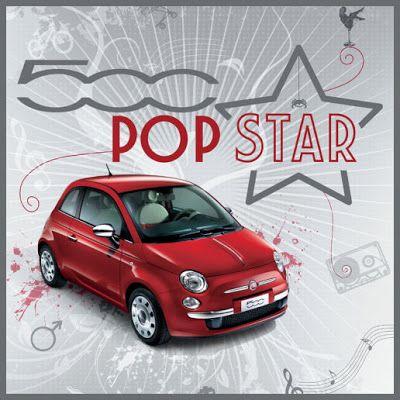 5ooblog | FIAT 5oo: New Fiat 500 POP STAR