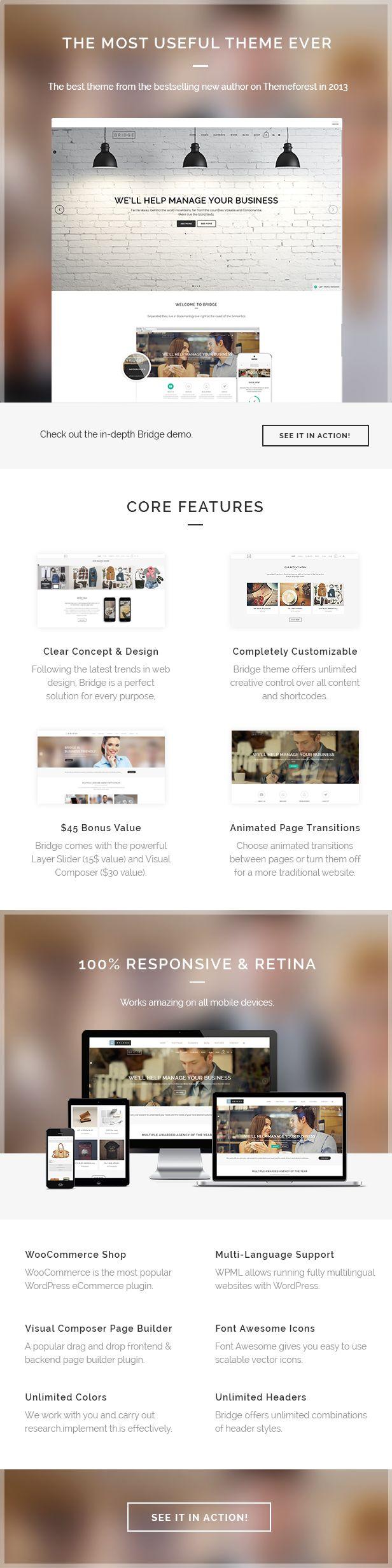 WordPress - Bridge - Creative Multi-Purpose WordPress Theme | ThemeForest