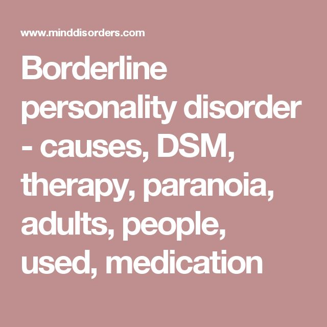 borderline personality disorder overview of an The course begins with an overview of borderline personality disorder, introducing you to the condition and providing you with a basic understanding, which you will build upon as you work your way through the course.